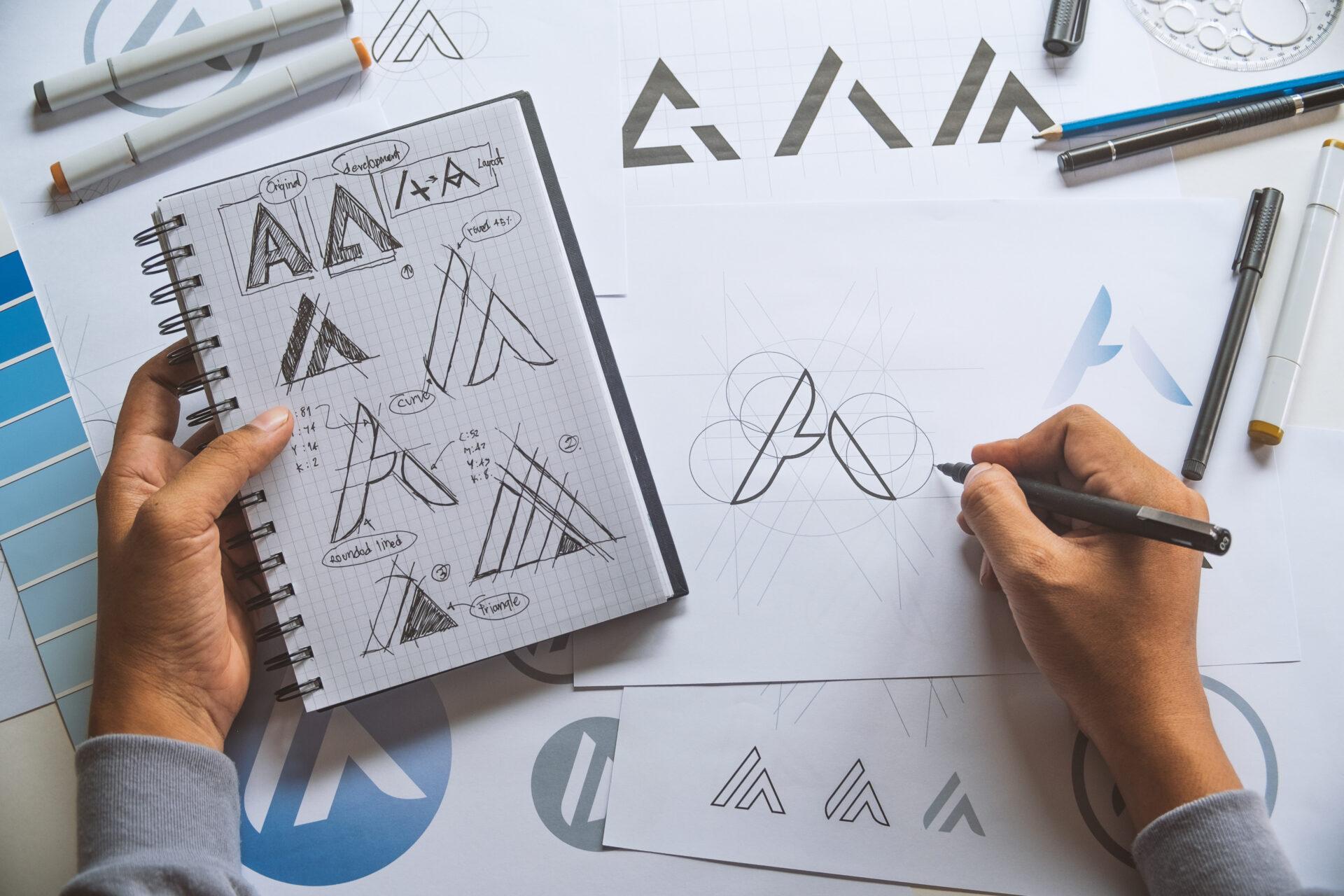 Marken-Logo erstellen - Design-Agentur