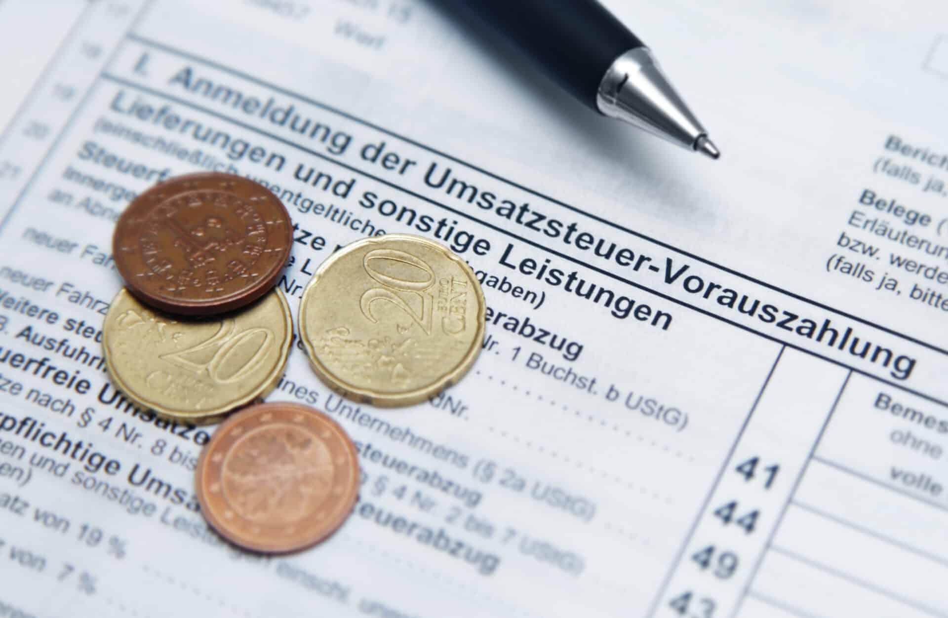 Umsatzsteuer Voranmeldung
