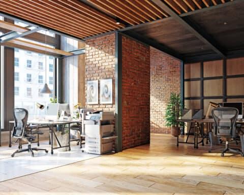 Büroräume mieten: So könnte dein Office aussehen.