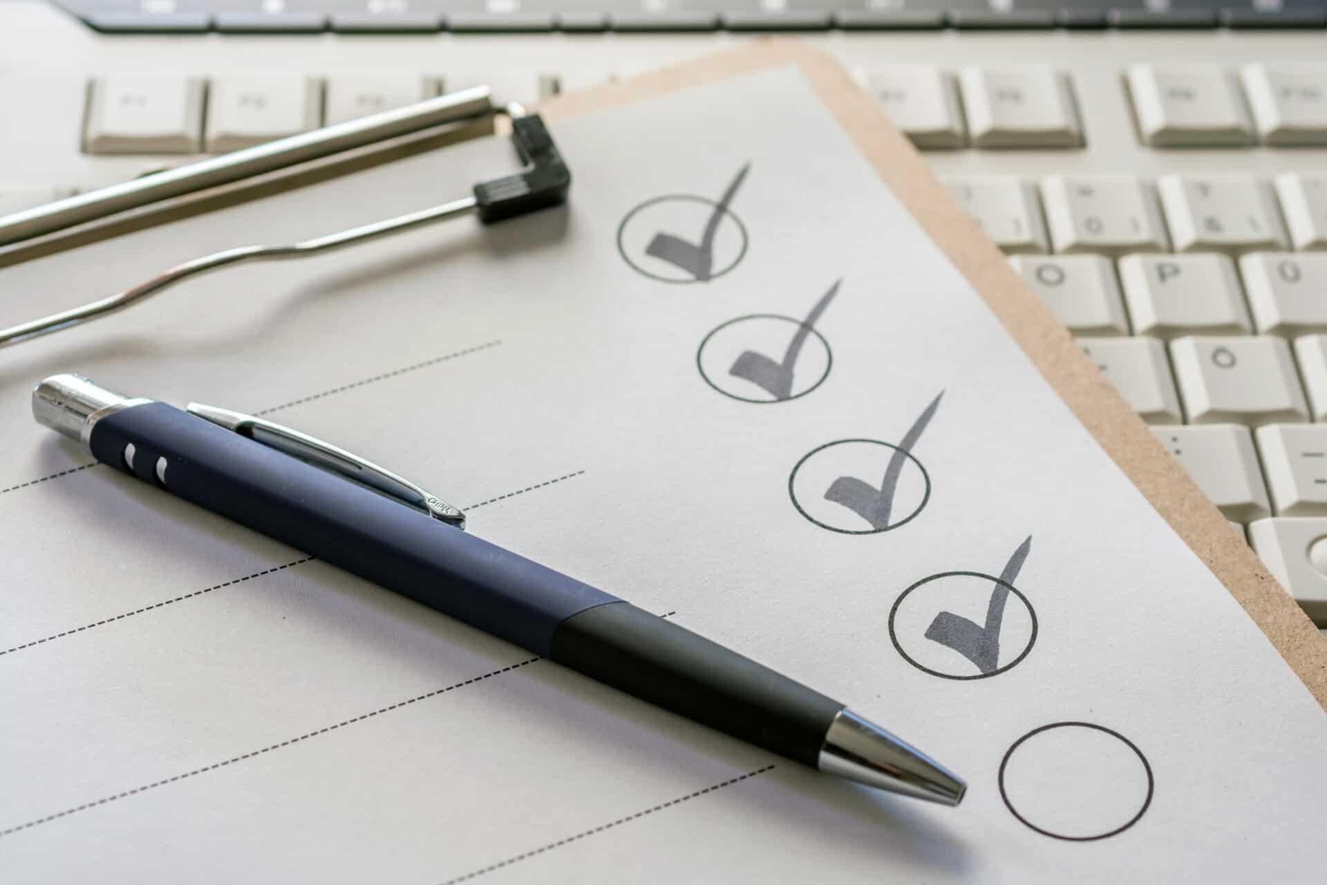 To-Do-Liste für besseres Zeitmanagement