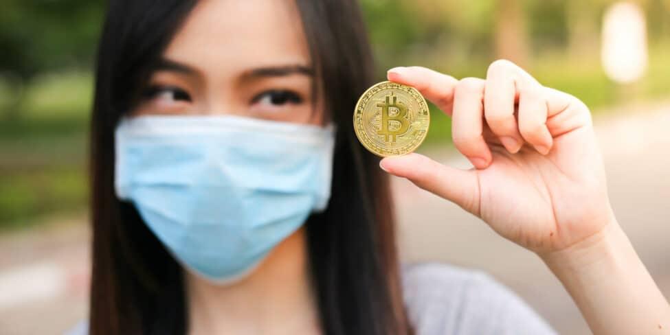 Kryptowährung kann auch in Krisenzeiten profitabel sein.