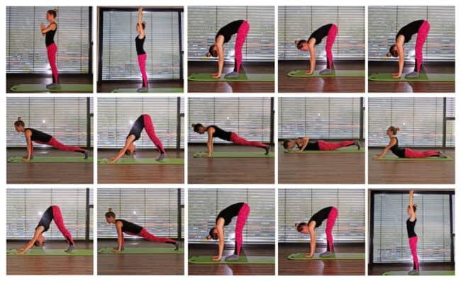 Yoga für Anfänger - Sonnengruß