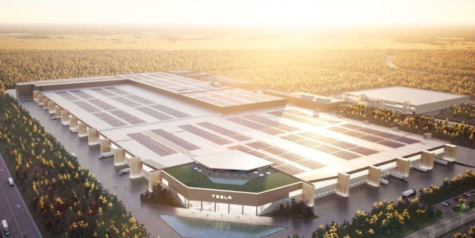 Tesla Fabrik Entwurf