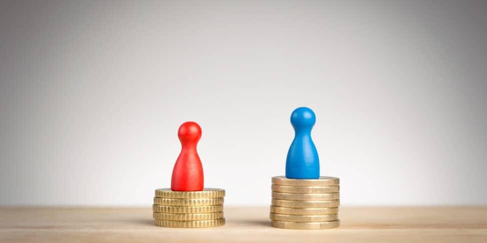 Gehaltslücke zwischen Ost und West
