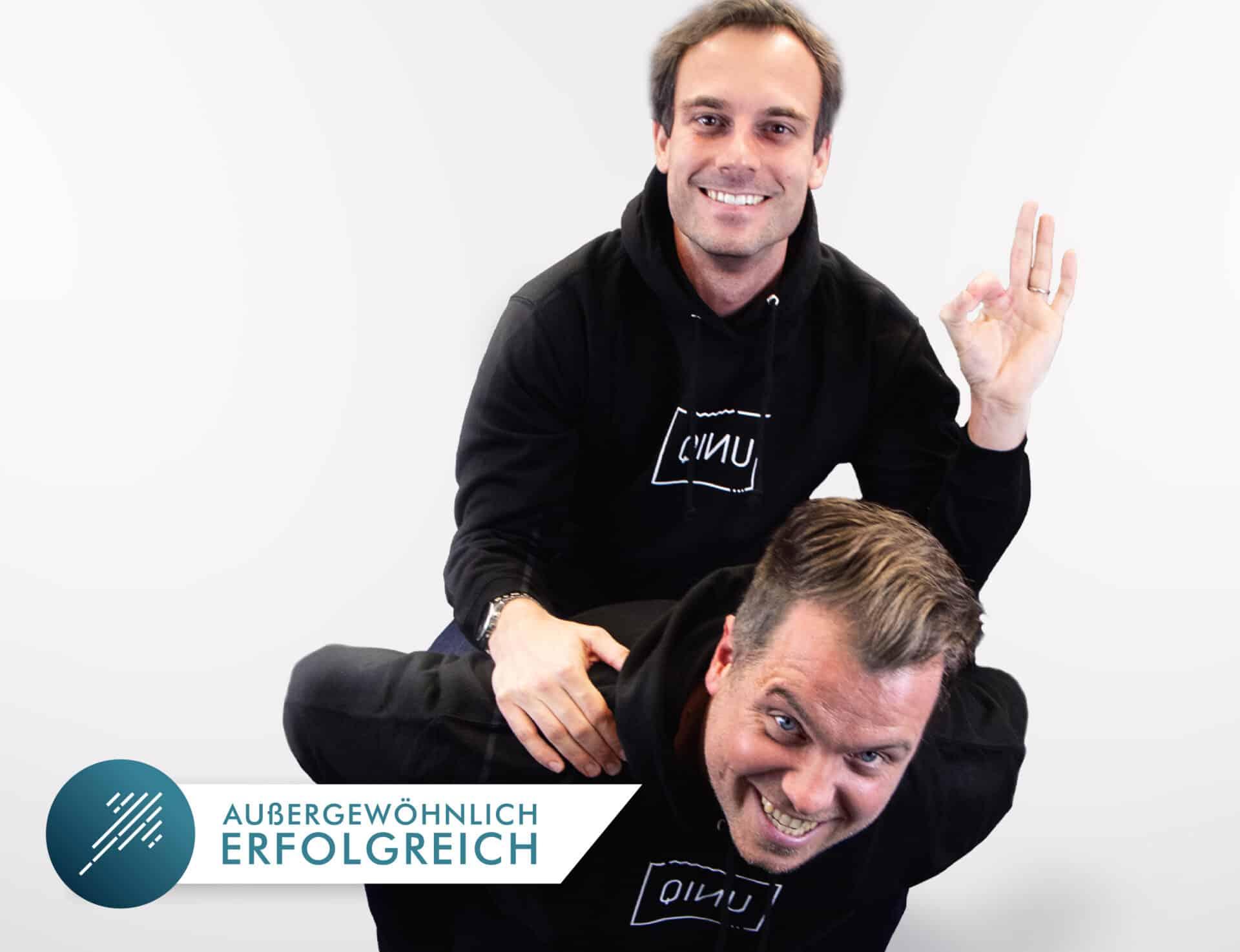 Urlaubsguru-Gründer Daniel Krahn und Daniel Marx