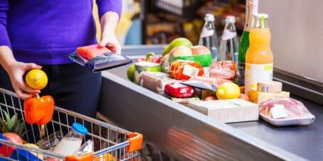 Mehrwertsteuersenkung im Supermarkt