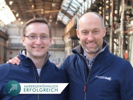 Metalshub Gründer Dr. Sebastian Kreft & Dr. Frank Jackel