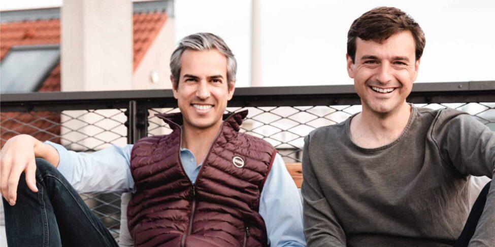 Johannes Roggendorf und Timo Fischer von Medwing