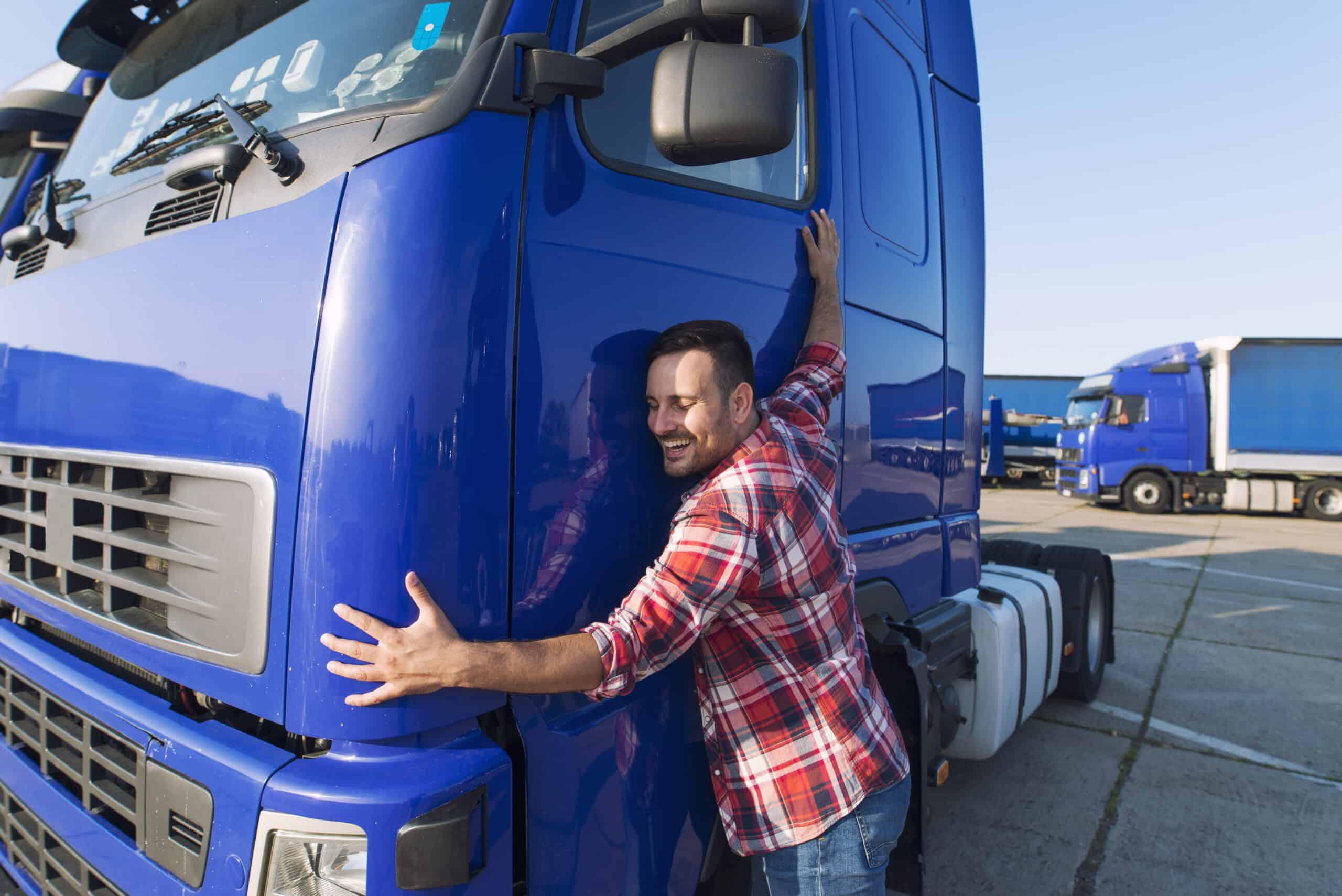 Selbstständig machen als LKW-Fahrer