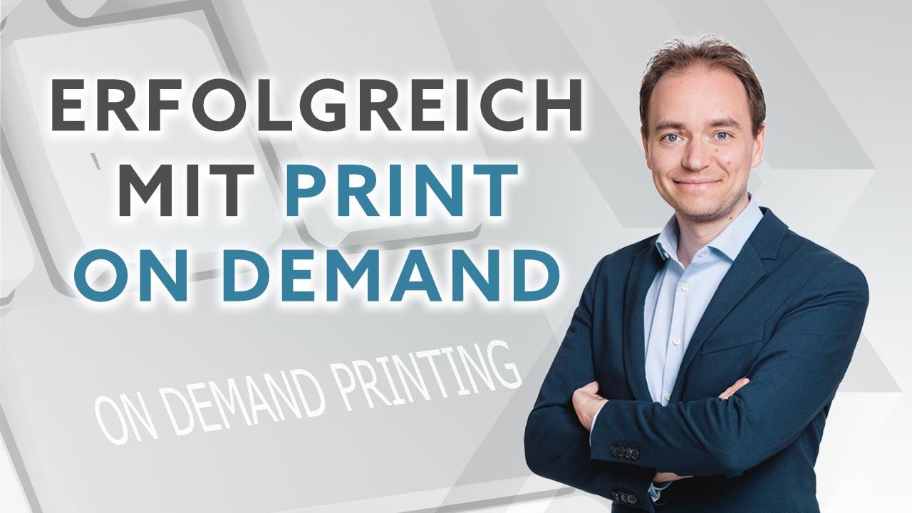 Webinaranmeldung: Erfolgreich mit Print on Demand