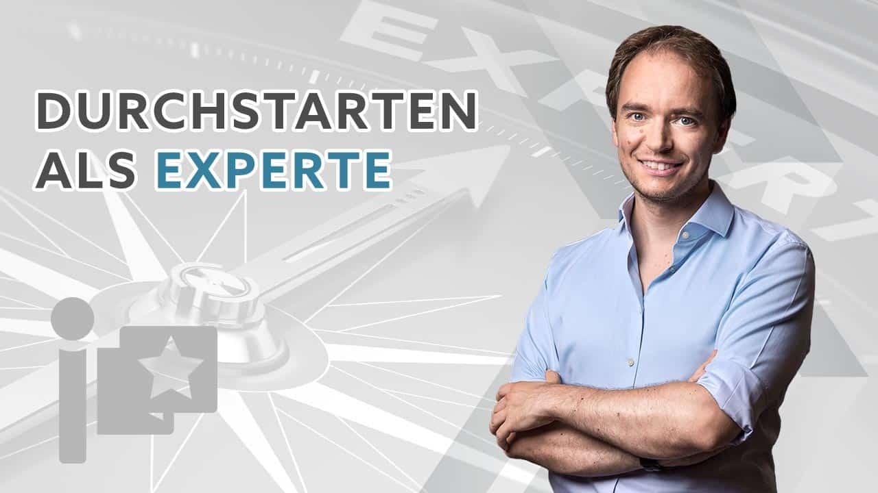 Webinaranmeldung: Durchstarten als Experte