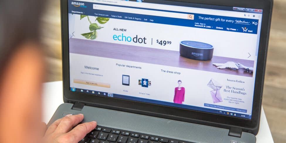 Amazon auf Desktop