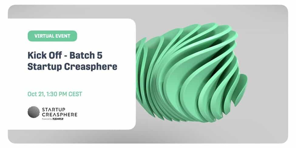 Kick off - Batch 5 Startup Creasphere