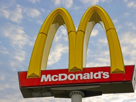 McDonalds auf Platz 9
