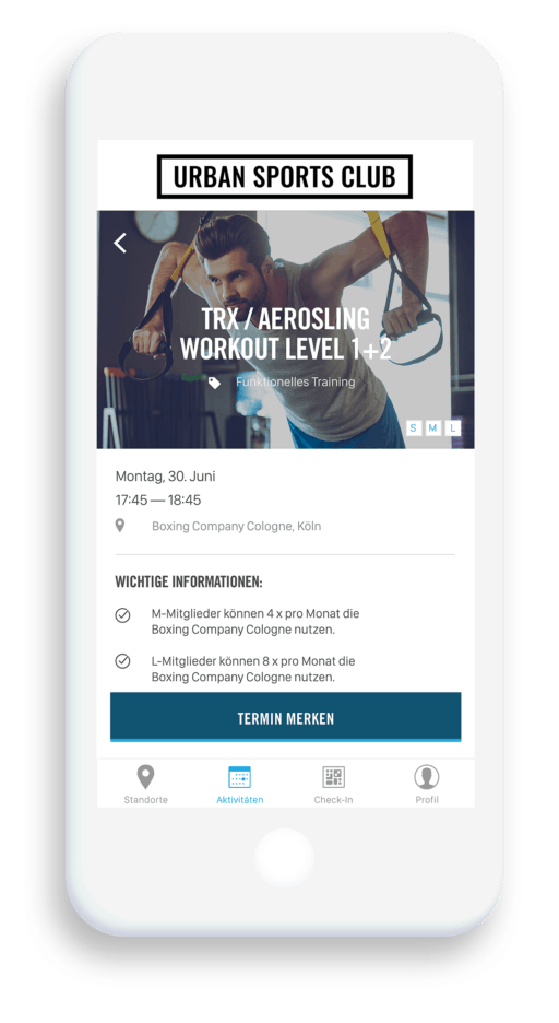App Urban Sports Club