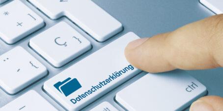 Datenschutzerklärung nach DSGVO erstellen kann einfach sein.
