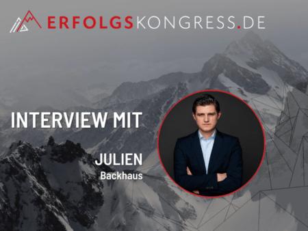Julien Backhaus Erfolgskongress