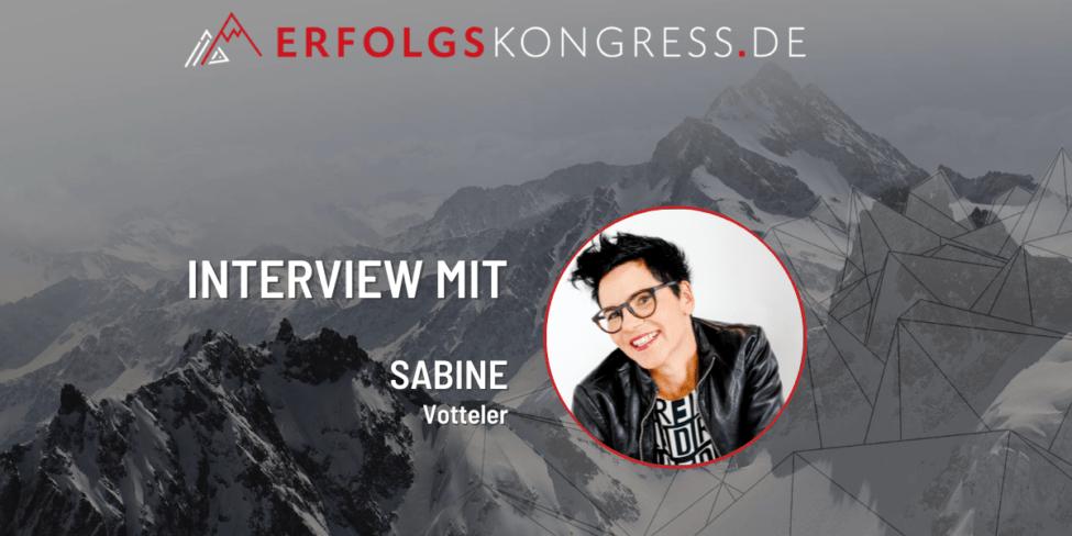 Sabine Votteler Erfolgskongress