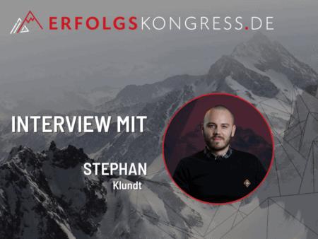 Stephan Klundt im Erfolgskongress-Interview