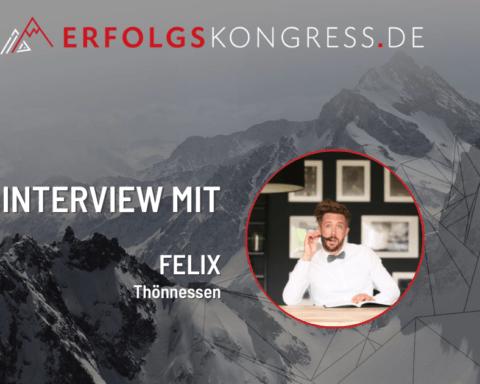 Felix Thönnessen Speaker beim Erfolgskongress