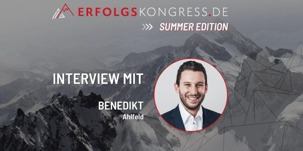 EKG-Interviews - Benedikt Ahlfeld