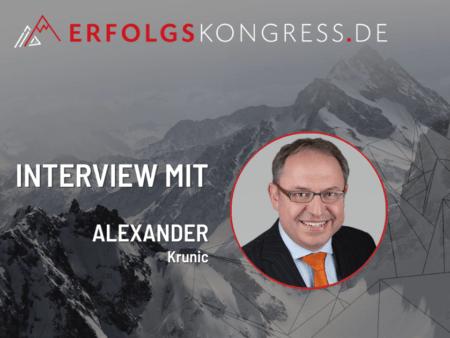 Alexander Krunic Erfolgskongress