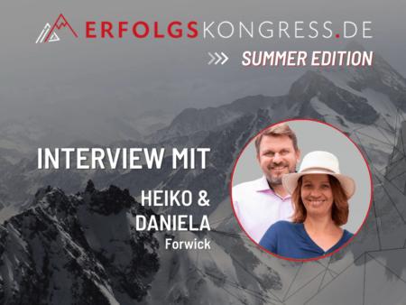 Heiko und Daniela Forwick im Erfolgskongress-Interview