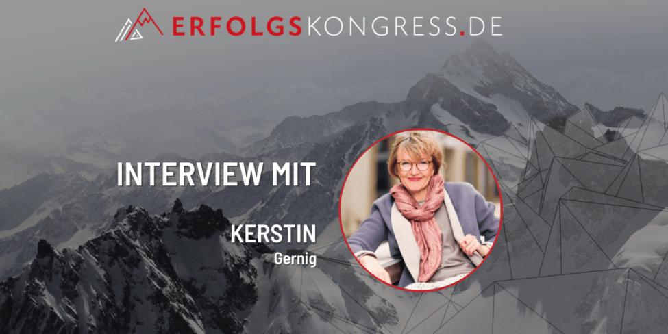 Erfolgskongress 2021 Kerstin Gernig Interview