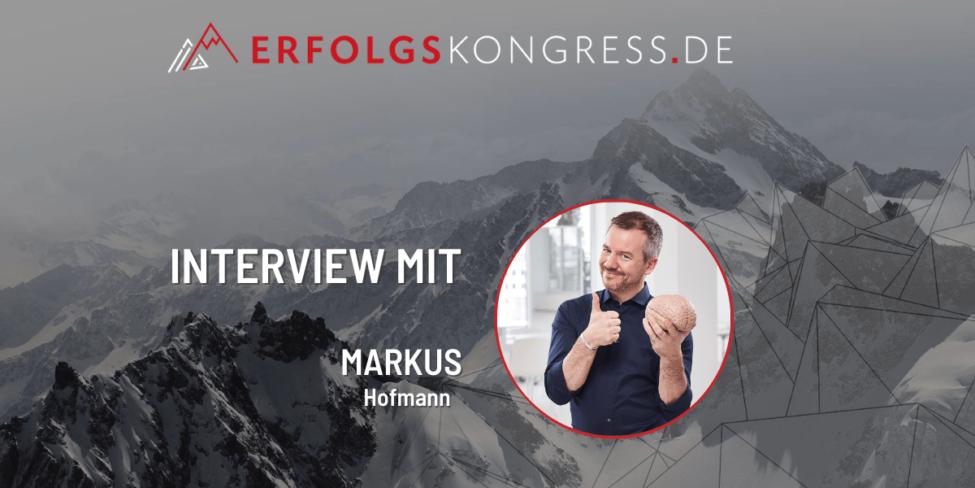 Markus Hofmann im Erfolgskongress-Interview
