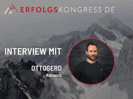 Ottogerd Karasch im Erfolgskongress-Interview