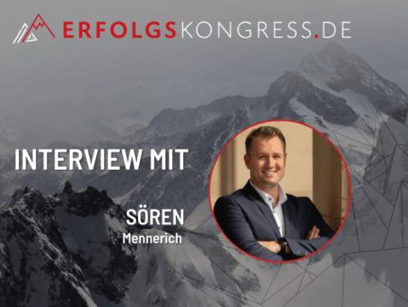 Sören Mennerich im Erfolgskongress-Interview