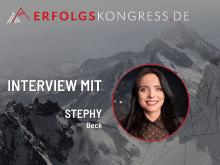 Stephy Beck im Erfolgskongress-Interview