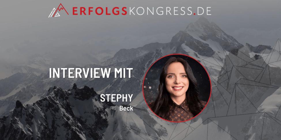 Stephy Beck im Erfolgskongress-Interview