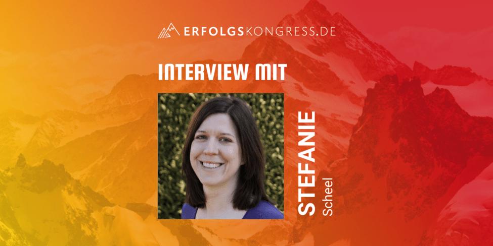 Stevka Scheel im Erfolgskongress-Interview