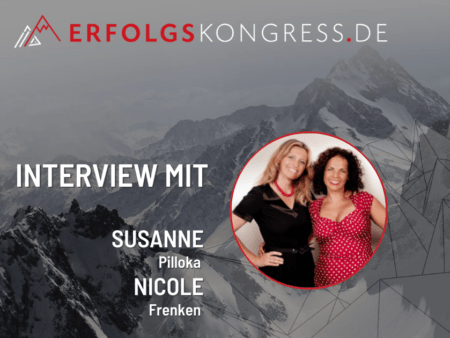 Susanne Pillokat und Nicole Frenken im Erfolgskongress-Interview