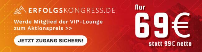 VIP Lounge Erfolgskongress
