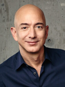 Jeff Bezos ist der Amazon-Gründer