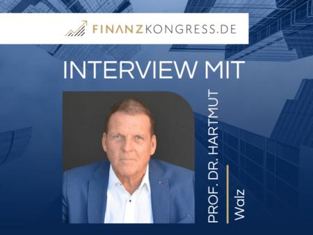 Prof. Dr. Hartmut Walz im Finanzkongress-Interview