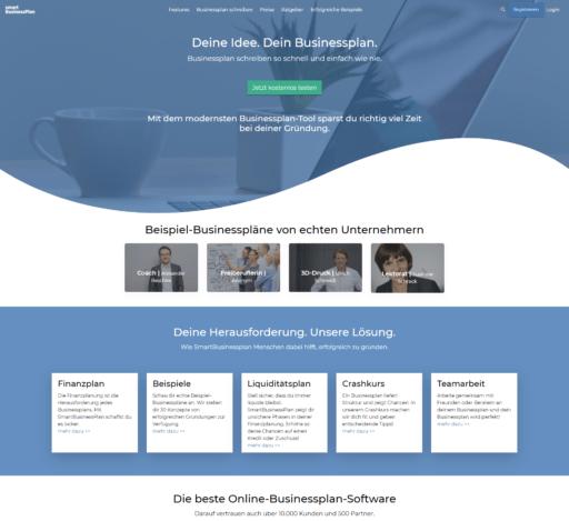 SmartBusinessPlan die Businessplan Software