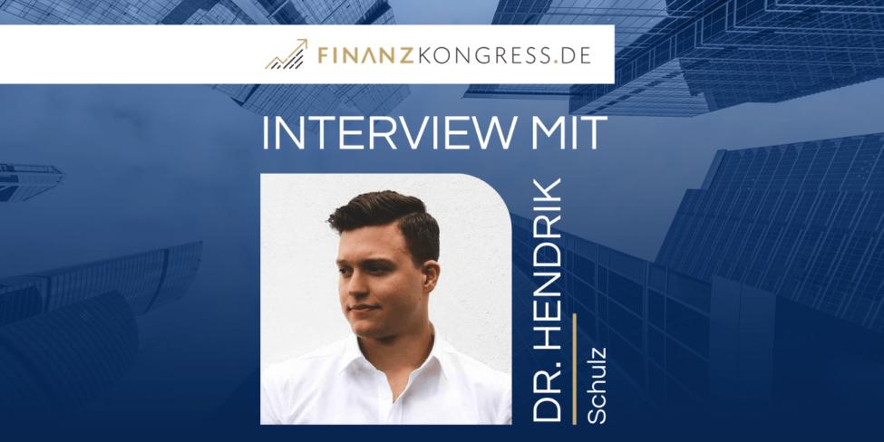 Dr. Hendrik Schulz im Finanzkongress-Interview