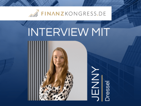 Jenny Dressel im Finanzkongress-Interview