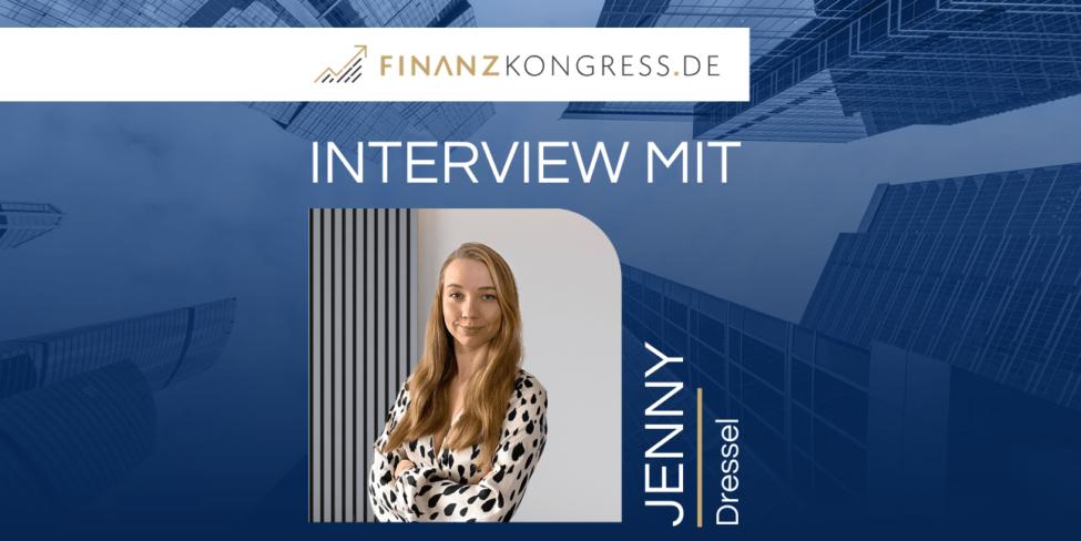 Jenny Dressel im Finanzkongress-Interview