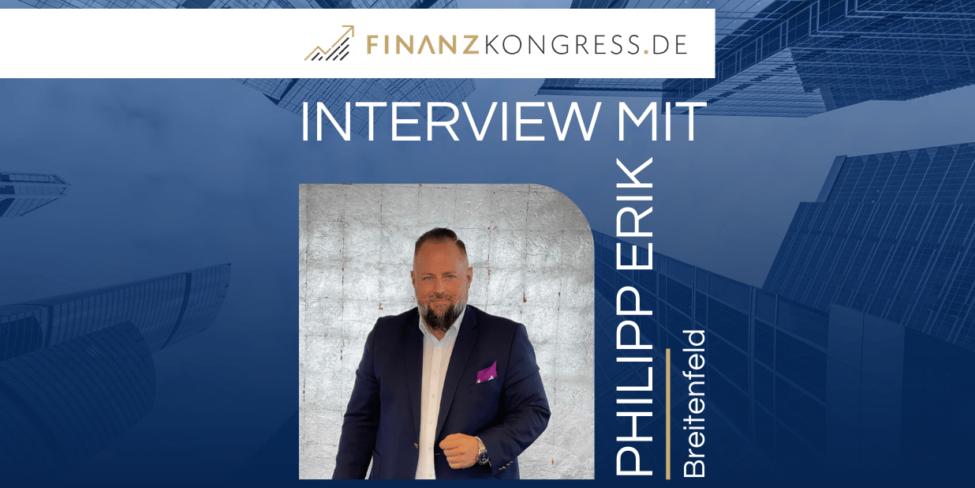 Philipp Erik Breitenfeld im Finanzkongress-Interview