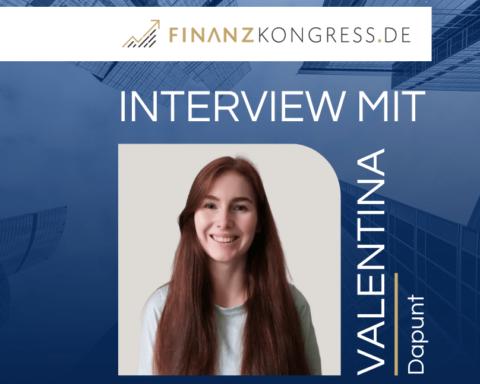 Valentina Dapunt im Finanzkongress-Interview