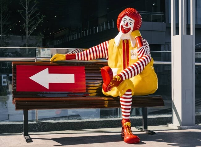 Ronald McDonald McDonalds-Gründer
