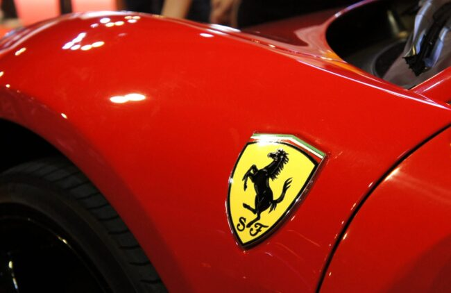 Logo Ferrari-Gründer