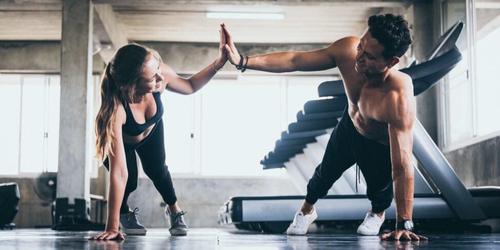 Coach in der Fitness- und Ernährungsbranche