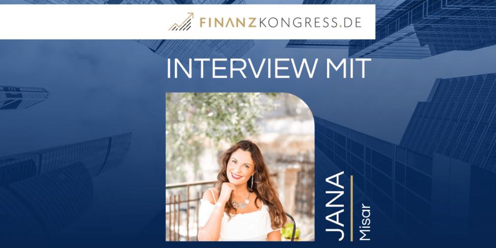 Jana Misar im Finanzkongress-Interview