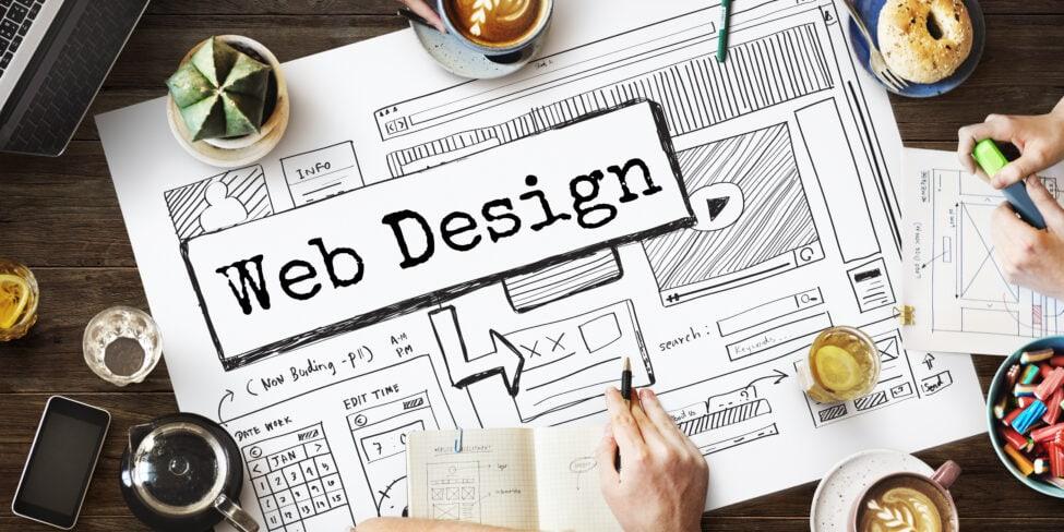 Oftmals tüftelt ein ganzes Team an der Webseite und versucht die Webdesign-Trends umzusetzen.