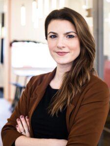 Mamameeting-Gründerin Sarah Drücker